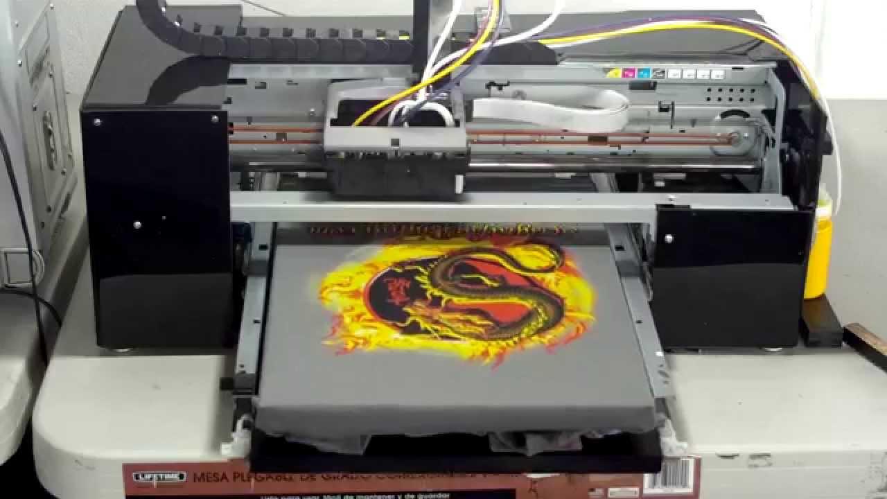 Impresora De Playeras Y Camisetas Impresi 243 N De Playera De