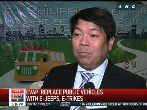 Will electric vehicles replace old jeepneys?