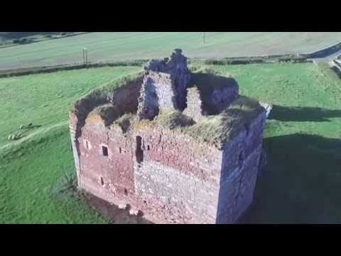 Cessford Castle, Scottish Borders
