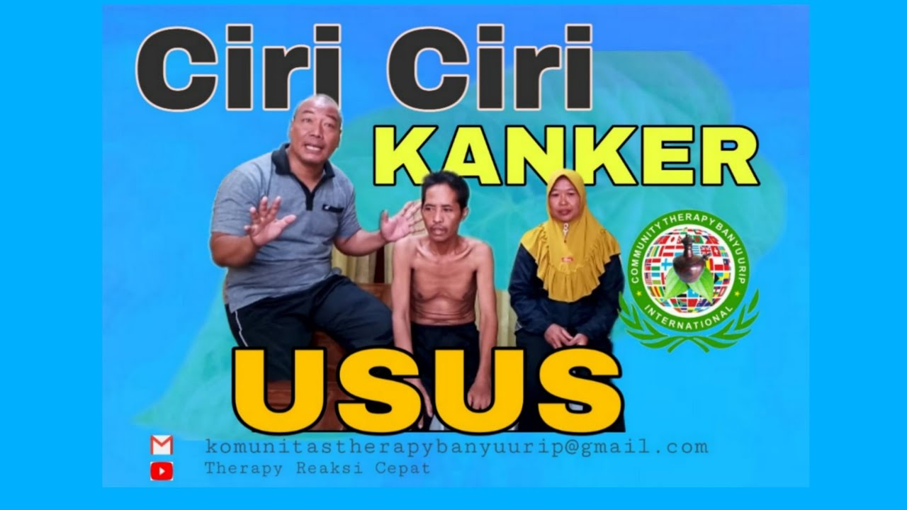 Ciri Ciri Kanker Usus Therapy Banyu Urip - YouTube