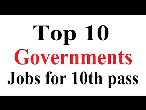 Top 10 Government Jobs in India for 10th Pass