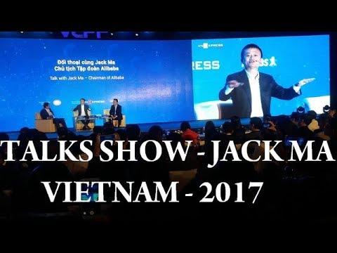 Jack Ma talks to 3000 Hanoi students in Vietnam 2017