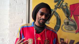 Behind the scenes with Snoop Dogg at FIFA 13 shoot