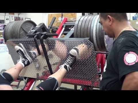 Elitefts mondo monster leg press via monster garage gym youtube