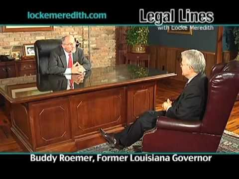 Buddy Roemer, Former Louisiana Governor, discusses how money has corrupted our political systems