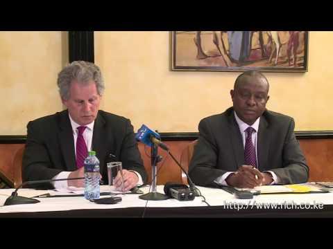 IMF First Deputy MD David Lipton Press Conference in Kenya
