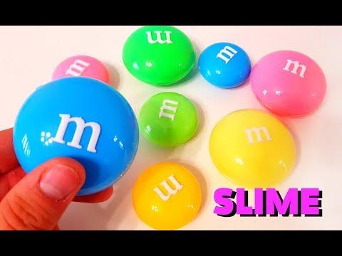 ВАУ! ЛИЗУНЫ M&M's КРУТАЯ  ЖВАЧКА ДЛЯ РУК Giant M&M Clay Slime Surprise Toys  HANDGUM