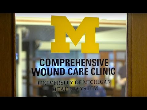 Wound Care Services at the University of Michigan Health System
