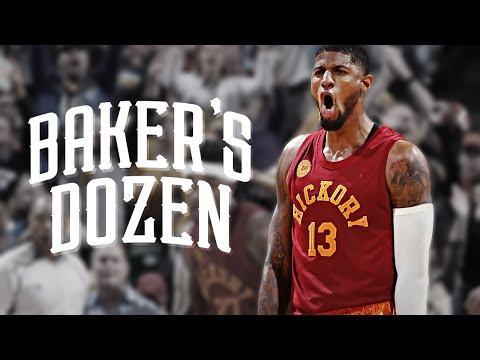 Paul George Mix - Baker's Dozen - 2016 Highlights ᴴᴰ