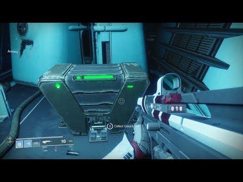 Destiny 2 - Armory Raid Chest Location (Armory Key Required / Solo Method) - Leviathan Raid