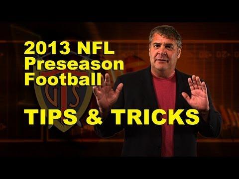 NFL Preseason Betting Tips with Tony George