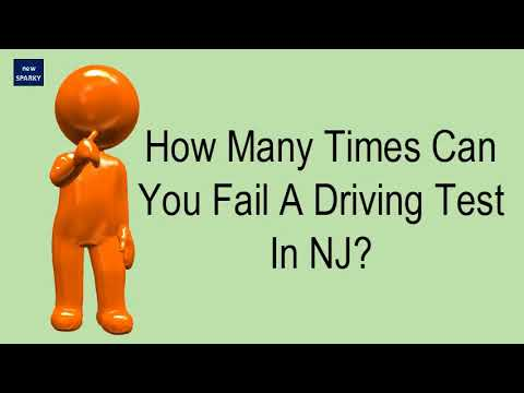 Reschedule Road Test Nj >> How Many Times Can You Fail A Driving Test In Nj Youtube