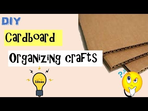 DIY | Best Out of waste Organizing crafts |CARDBOARD Crafts | how to make Keyholder from carboard
