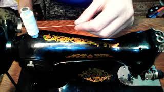 видео Как вставить нитку в швейную машинку