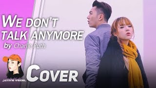 We Don T Talk Anymore Charlie Puth Ft Selena Gomez Cover By Jannine Weigel HaoRen