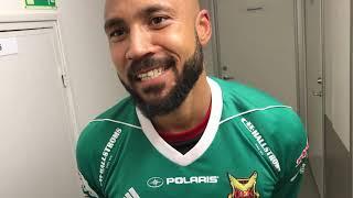 Aly Keita, målvakt i ÖFK berättar om ÖFK:s seger över Sirius med 1-.0.