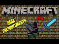 HOW TO GET MAX ENCHANTMENTS IN MINECRAFT
