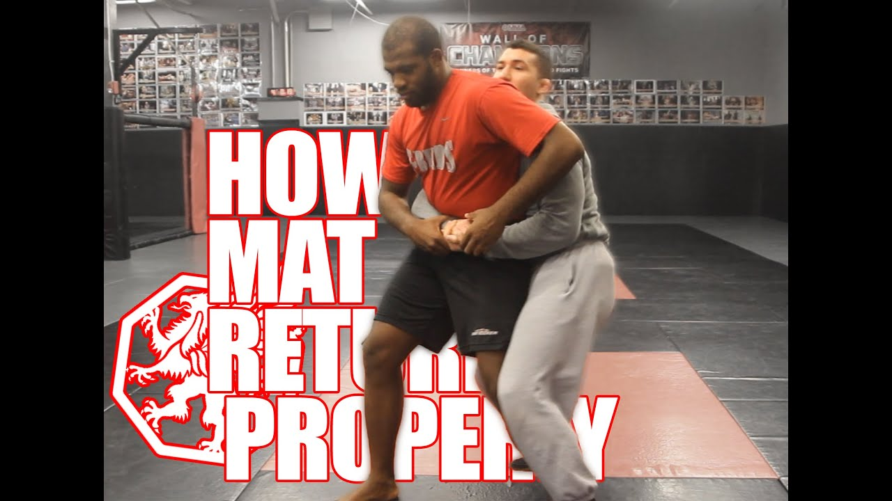 How To Mat Return Properly Youtube