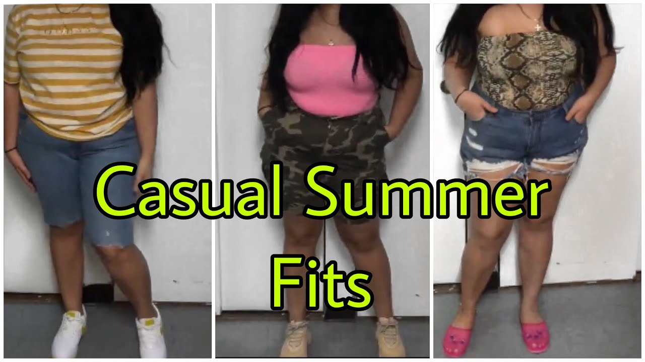 [VIDEO] - Casual Summer Outfits   Fashion Nova, Guess, Puma, Forever 21 1