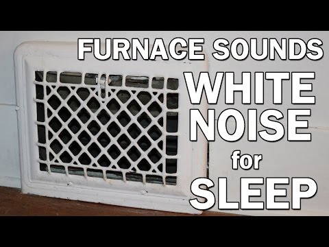 Forced Air Gas Furnace White Noise Sounds for Sleep 10 Hours ASMR