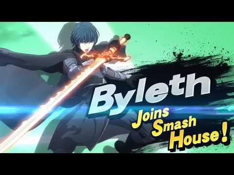 Byleth in Super Smash Bros. Ultimate! - Reveal Trailer