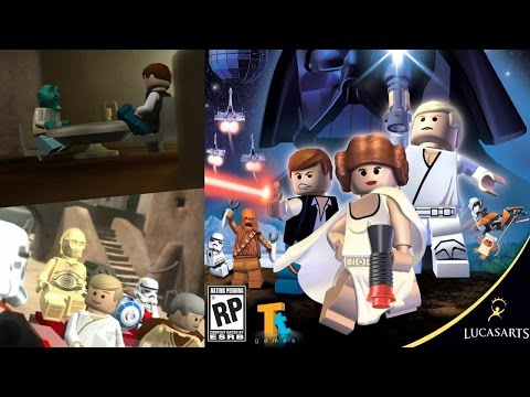 Lego Star Wars - A New Hope, Mos Eisley Spaceport [Ch.3 of Ep. IV]