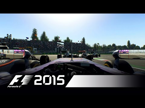 F1 2015 - Sergio Perez Mexico Hot Lap