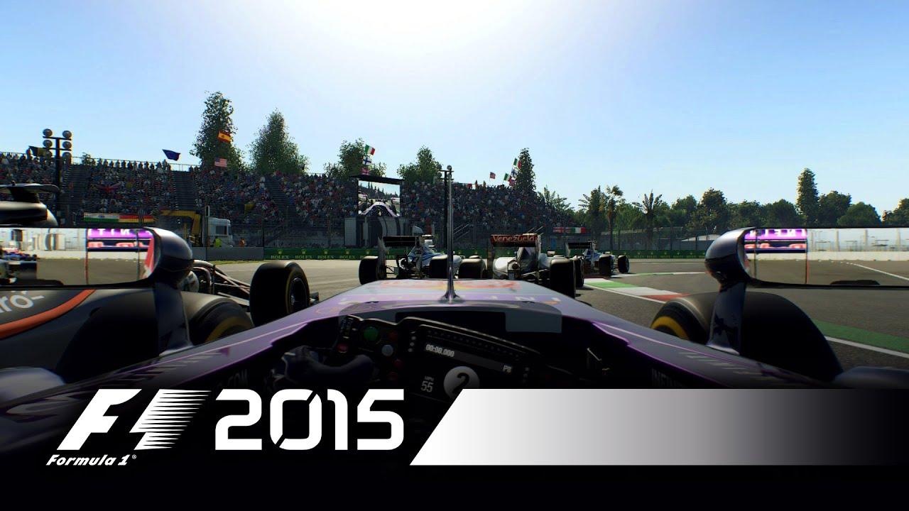 Download F1 2015 - Sergio Perez Mexico Hot Lap