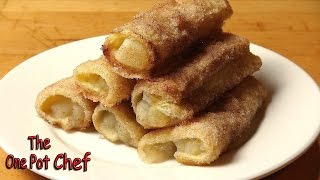 Apple Pie Roll Ups | One Pot Chef