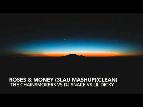 (Clean) Roses & Money (3LAU Mashup) The Chainsmokers vs DJ Snake vs Lil Dicky