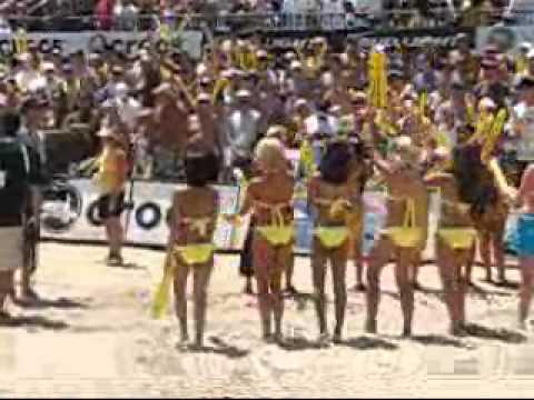 2006 AVP Manhattan Beach Open AVP And Cuervo Girls