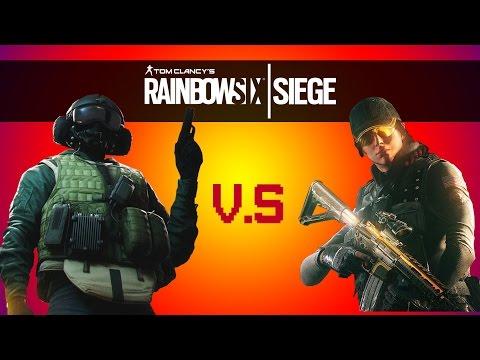 PriesT v.s HazBroTube 1v1 (Rainbow Six Siege + Q&A)