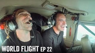 Q&A FROM THE PLANE! - World Flight Episode 22