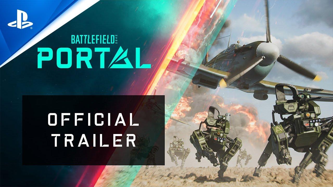 Battlefield 2042 - Bande-annonce officielle de Battlefield Portal