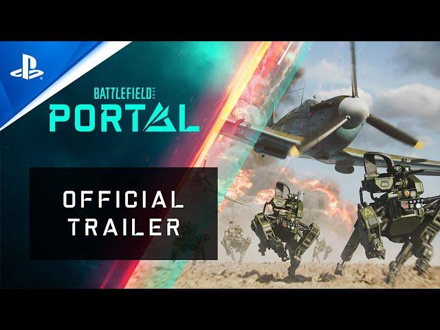 Battlefield 2042 - Battlefield Portal Official Trailer | PS5, PS4