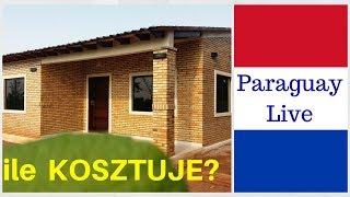 Ile kosztuje budowa domu parterowego bez architekta w Paragwaju