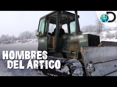 La Peligrosa Construcción A Lo Largo Del Río Yukon | Hombres Del Ártico L Discovery Latinoamérica