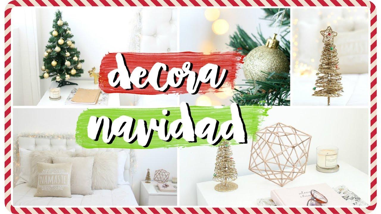 C mo decorar tu cuarto para navidad ideas f ciles for Trucos para decorar tu habitacion
