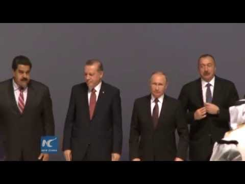 Turkish and Russian presidents sign deal on natural gas project