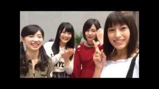 AKB48、12期生の平田梨奈ちゃん、武藤十夢ちゃん 岩田華怜ちゃん、大森...