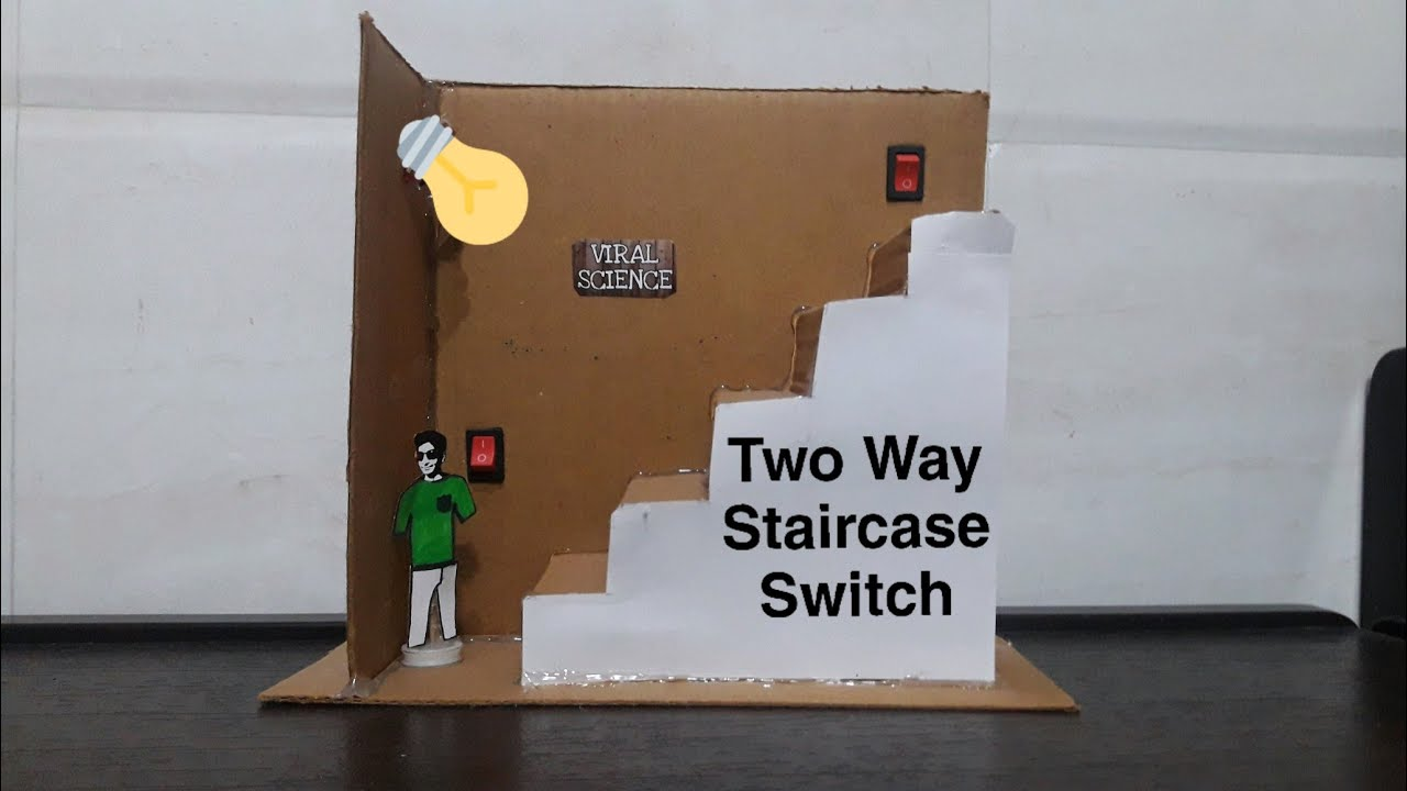 Staircase light switch system | Two way switch - YouTube