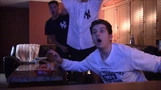 Yankees Fan Reaction - Yankees Astros - Game 4 ALCS