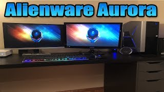 UNBOXING MY NEW GAMING PC + Fortnite Gameplay and FPS Test - (Alienware Aurora R7)