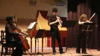 "HAENDEL: ""Sonata HWV 381"", Adagio (1/4); Davide Guarneri oboe"
