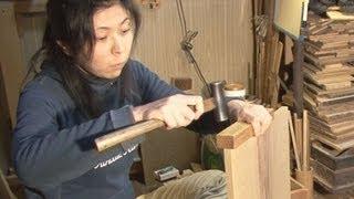 釘を使わない伝統の家具 東京職人「江戸指物」 thumbnail