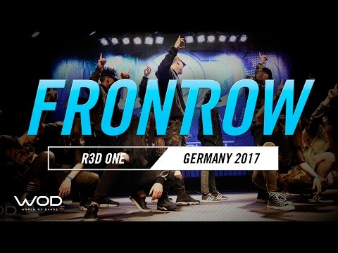 R3D ONE | FRONTROW | World of Dance Germany Qualifier | #WODGER17