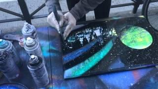 AMAZING SPRAY PAINT ART IN NEW YORK CITY
