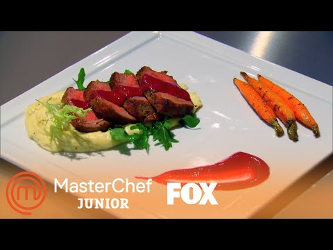 Alex's Filet Mignon Is A Show Stopper   Season 1 Ep. 2   MASTERCHEF JUNIOR