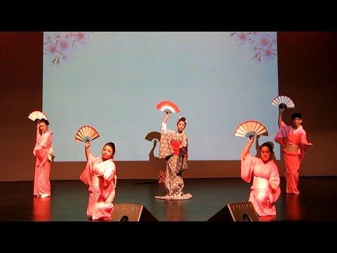 ★JCN2016 Japanese Cultural Night - NUS Nihon Buyo - Japanese Dance - Sakura Sakura 1of8 [HD]