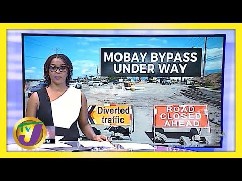Help for Motorists in Montego Bay, Jamaica   TVJ News